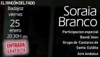 """Soraia Branco cierra el ciclo de conciertos de """"El Rincón del Fado"""""""