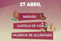 Visita a Marvão, Castelo de Vide y Valencia de Alcántara.
