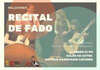 """Concierto de fado en Cáceres con el grupo """"Malquerer"""""""