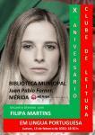 Lídia Jorge en Cácereres y Filipa Martins en Mérida