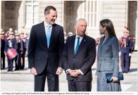 Reyes y Presidente de la República de Portugal