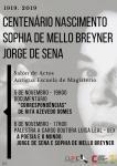 centenario de Sophia de Mello Breyner y Jorge de Sena