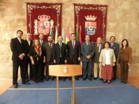 Foto de la delegación