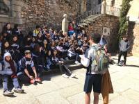 Visita EB Garcia d'Orta a Cáceres